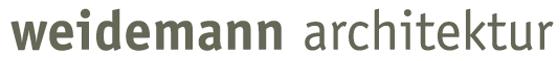 Logo Weidemann architektur